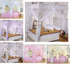 Twin Bed Canopies by Online Get Cheap 4 Corner Canopy Mosquito Net Aliexpress Com