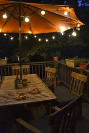 Globe Lights Patio Nighttime Deck New House Pinterest Decking Patios And Backyard