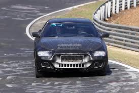 maserati fendi spyshots 2014 maserati quattroporte at nurburgring autoevolution