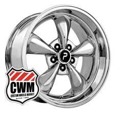 mustang replica wheels 17x8 bullitt replica chrome wheels rims 5x4 50 for ford mustang