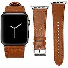 amazon com apple watch band elander u0026trade top grain leather band
