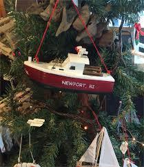 lobster boat ornament newport ri