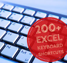 200 excel keyboard shortcuts 10x your productivity
