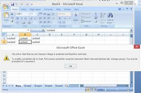 excel vba range lock unlock specific cells