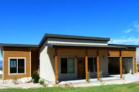 Modular Guest House California Zip Kit Homes Are Efficient Streamlined Prefab Houses Out Of Utah