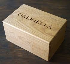 personalized wooden jewelry box personalised wood jewellery boxes makemesomethingspecial co uk
