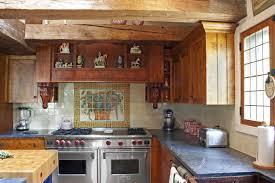 traditional horse farm kitchen