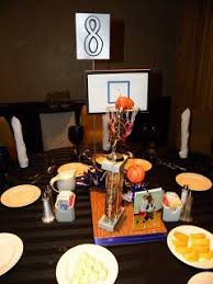 Basketball Centerpieces 8 Best Diy Basketball Centerpieces Images On Pinterest