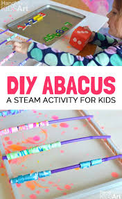 design your own kid made abacus