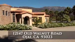 Ranch House Ojai by 12147 Old Walnut Road Luxury Estate U0026 Ranch Youtube