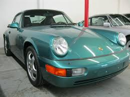 wimbledon green 1994 porsche 911 carrera 2 has only 8 739 miles
