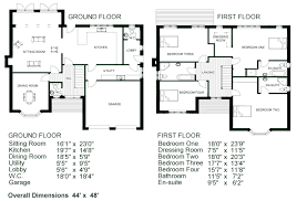 Floor Plans With Measurements House Floor Plans With Dimensions Home Design