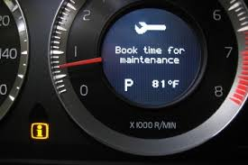 service light on car how to service light reset in volvo s60 v60 and xc60 until 2013
