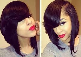 black hair 27 piece with sidebob side bob w flipped bangs hair work pinterest bobs