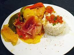 cuisine poulet basquaise poulet basquaise la recette facile par toqués 2 cuisine
