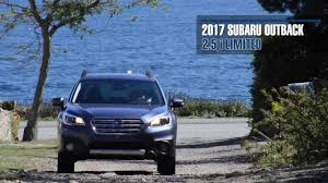 2017 subaru outback 2 5i limited 2017 subaru outback carsmart review youtube