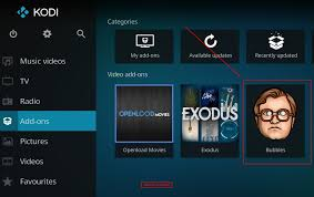 installiere bubbles kodi movies streaming add on u2013 kodi helfer