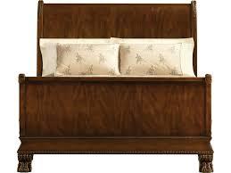 baker furniture 5226k bedroom stately homes sleigh bed king
