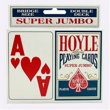 Play Pinochle Double Deck by Amazon Com Educational Products Hoyle Super Jumbo Playing Cards