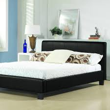 leather beds hagins upholstered panel bed white bed frames full