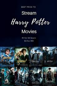 rent harry potter movies how to legally watch full movie for free