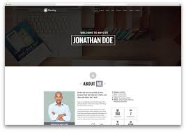 Resume Web Template Bootstrap Personal Website Templates Resume Cover Letter Template
