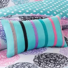Turquoise And Purple Bedding Amazon Com Girls Teen Kids Modern Bedding Set Aqua Pink Purple