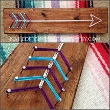 Diy Crafts For Teenage Rooms - arrow boho decor dorm decor teen room decor teenager gifts