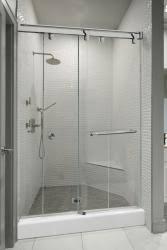 Bypass Shower Door Crl Introduces Its Contempo Bypass Shower Door System Glass Magazine