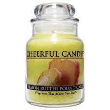 lemon butter pound cake scented jar candles lemon butter pound