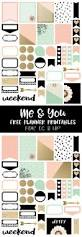 1253 best planners stickers images on pinterest happy planner free printable me and you planner stickers from free pretty things for you