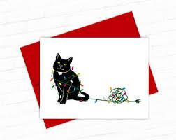 cat card etsy