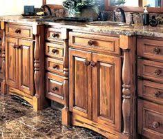 Kraftmaid Bathroom Cabinets Try This Distressed Reclaimed Look Durango Rustic Maple In