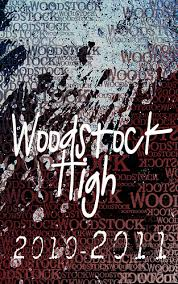 high school agenda woodstock high school agenda cover i created this as an ag flickr