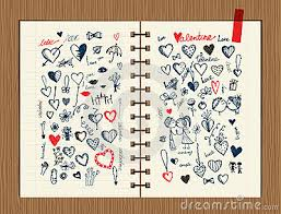sketch on notebook sheet for your design