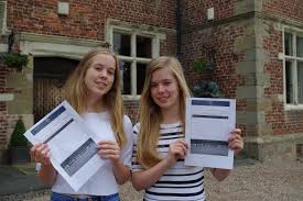 moreton hall twins have double the cause for celebration on gcse