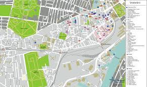 map of copenhagen copenhagen vesterbro map mapsof