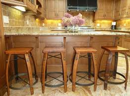 remarkable wood kitchen islands base with wooden backless bar