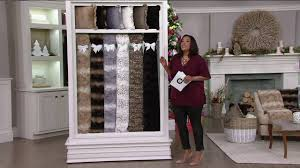 Oversized Faux Fur Throw Dennis Basso 68x60 Oversized Sculpted Faux Mink Throw On Qvc Youtube