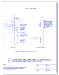 Handrail Construction Detail Caddetails Com General Requirements Cad Drawings Caddetails Com