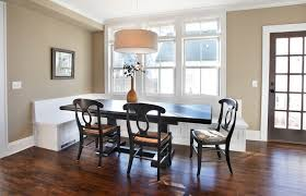 Banquette Bench Seating Dining Dining Room Contemporary With Wood - Dining room banquette bench