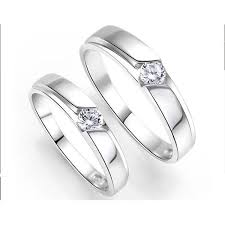couples wedding rings inexpensive his and couples wedding ring bands with cz on