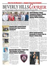 bhcourier e edition 092316 by the beverly hills courier issuu