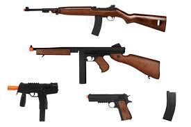 Airsoft Backyard Battle Wwii Allies Battle Kit M1 Carbine M1a1 Kmp 1911 Airsoft