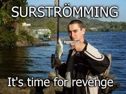 Swedish Meme - meme challenge 9 surströmming steemit