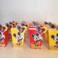 mickey mouse favor bags how to make mickey mouse inspired popcorn favour boxes with free