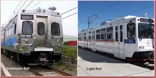 denver light rail hours commuter rail vs light rail