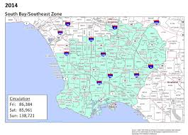 South Los Angeles Map by Placeanad Latimes Com Saturday