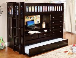 Kids Storage Beds With Desk Bedroom Gorgeous Maxtrix Bling 3 Twin Mid Height Storage Loft