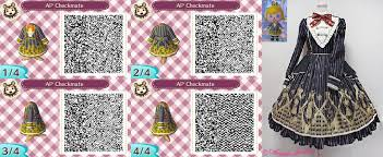 animal crossing new leaf qr code hairstyle animal crossing new leaf qr code checkmate by mysterymoonbeam